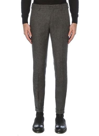 NetWork Erkek 1076950 Drop 6 Slim Fit Desenli Pantolon Lacivert